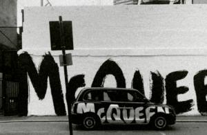 Граффити от Alexander McQueen