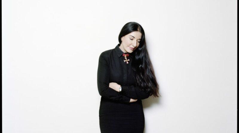 Marina Abramovic, 2012.