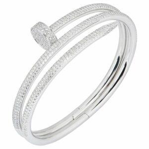 Cartier Nail Diamond Bracele