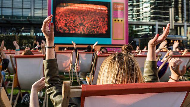 Фестиваль фильмов под открытым небом Summer on Screen в Wembley Park