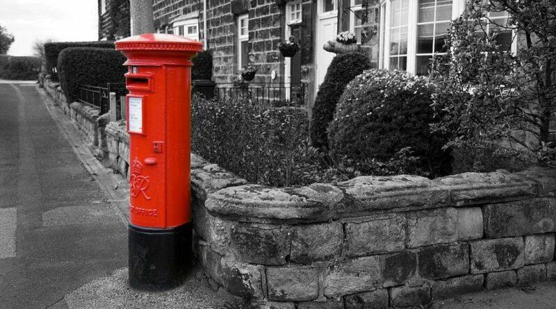 почтовые тумбы британии