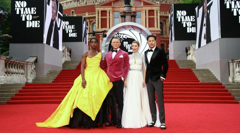 Премьера нового Джеймса Бонда. эффектное платье герцогини Кембриджской и другие наряды