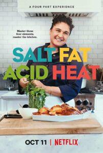 Соль, жир, кислота, тепло. Salt Fat Acid Heat