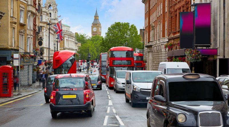 дороги в лондоне