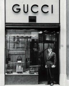 первый магазин Гуччио Гуччи дизайнера