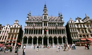 The museum at the Maison du Roi on the Grand Place in Brussels.  Photograph: Richard Sellers/Sportsphoto Ltd/Allstar