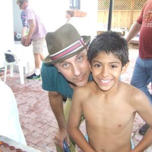 Уилли Гарсон с сыном