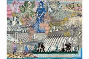 Malala Andrialavidrazana, Figures 1852, River Systems of the World, 2018.  Courtesy of Somerset House