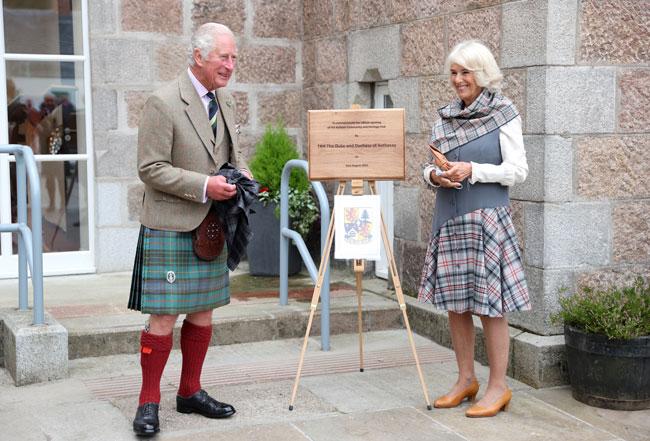 Стиль принца Чарльза и герцогини Корнуольской. Новый визит в Шотландию