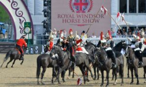Королевская конная выставка в Виндзоре