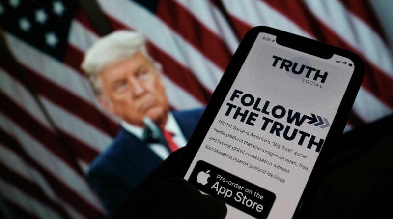 Социальная сеть Дональда Трампа TRUTH Social подверглась атаке хакеров
