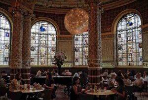 V&A Café at the Victoria & Albert Museum, London