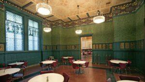V&A Café at the Victoria & Albert Museum, London  Photograph@Victoria &Albert Museum