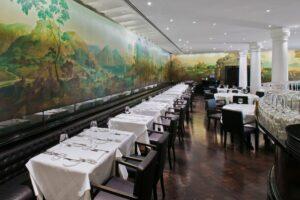 Rex Whistler Restaurant at Tate Britain, London